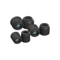 Comply foam tips Isolation Plus Black; Large size (Compatible with E4  H3  H5  E8)