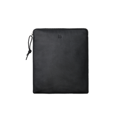 A bag for your headphones Black Leather  (Compatible with All Headphones)